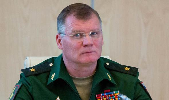 Russian Defense Ministry spokesman Major-General Igor Konashenkov