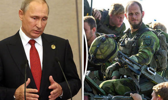Putin and troops