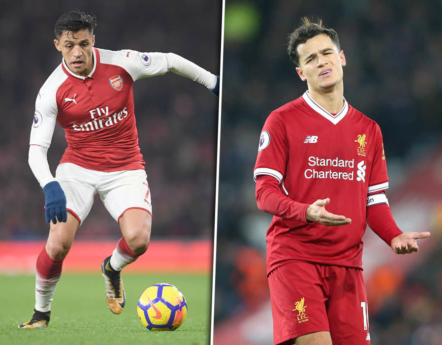 Arsenal Liverpool combined XI