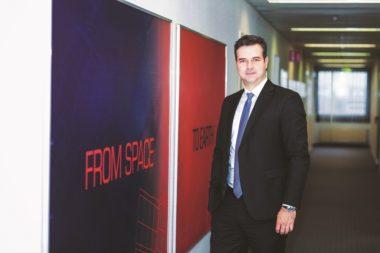 Jürgen Heizmann, managing director of Azur Space Solar Power in Heilbronn, Germany. (Credit: Azur Space)