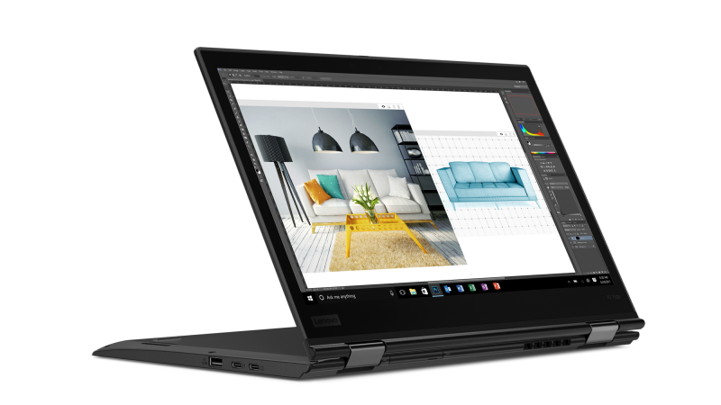 Lenovo's ThinkPad X1 Yoga laptop debuted at CES 2018