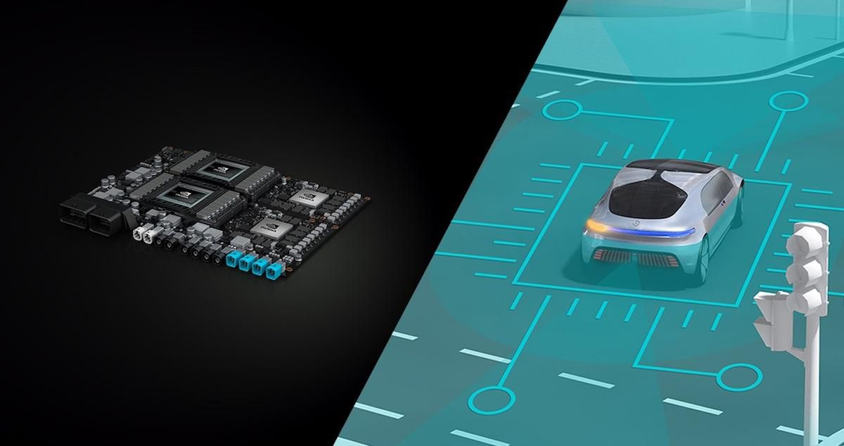 Nvidia partners with Bosch and Daimler on self-driving car tech ...