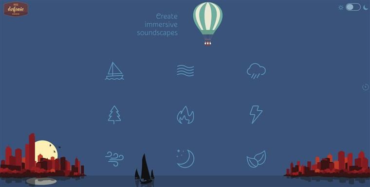 Image: Defonic desktop and mobile app