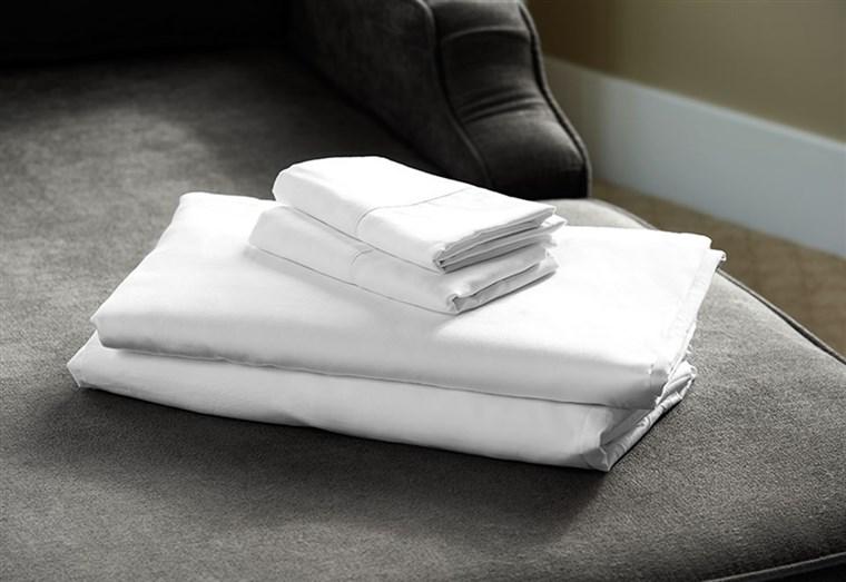 Image: Temperature regulating sheet set