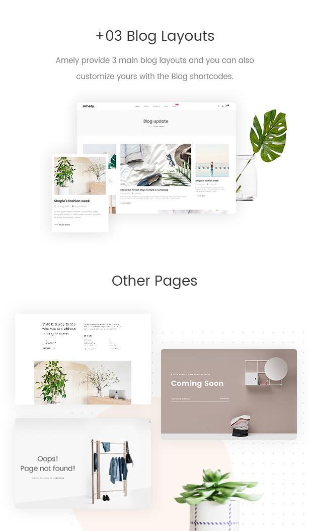 Amely - Classy eCommerce WordPress Theme For WooCommerce