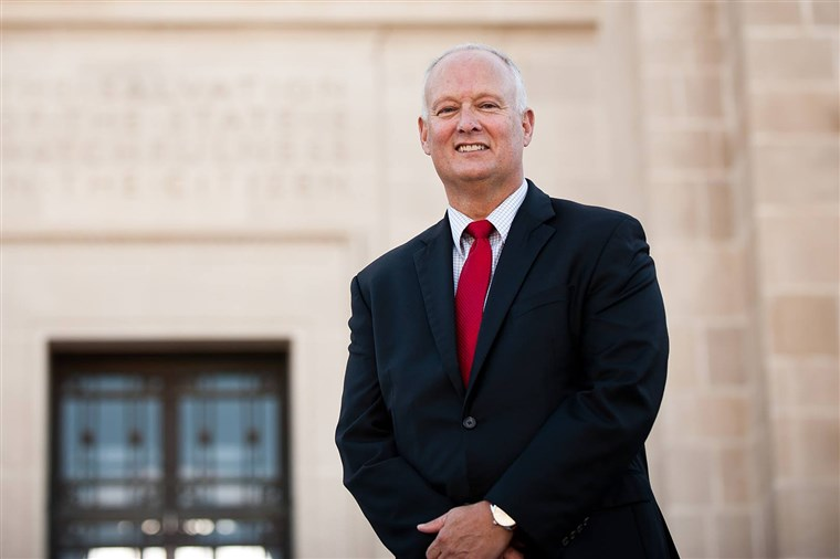 Nebraska Attorney General Douglas Peterson.