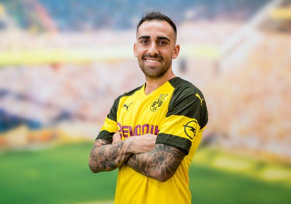 Barcelona Transfer News: Barcelona striker Paco Alcacer has joined Borussia Dortmund on loan