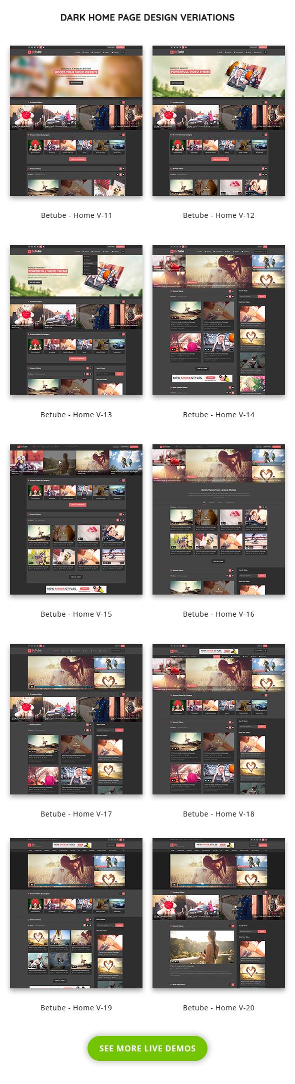 betube video magazine wordpress theme