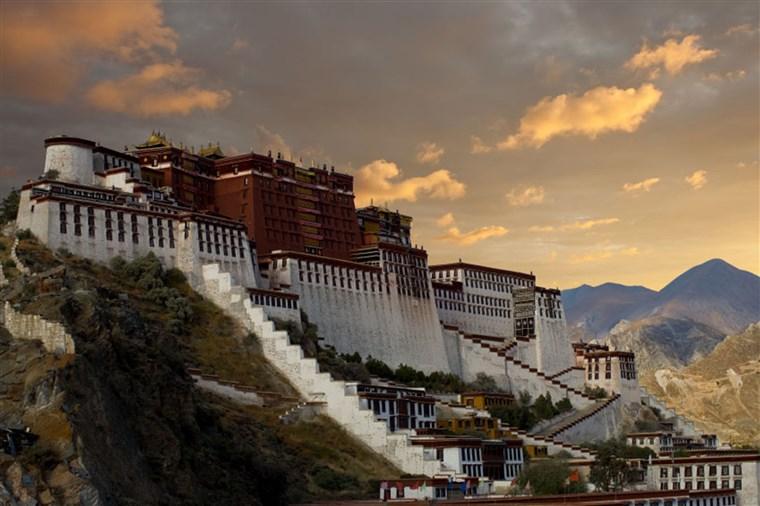 Image: Potala Palace in Lhasa, Tibet