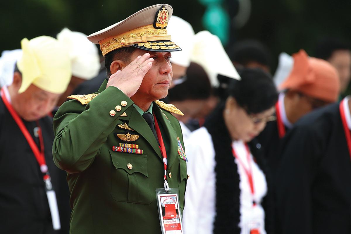 Myanmar's commander-in-chief Min Aung Hlaing