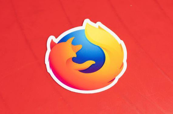 Mozilla Firefox sticker