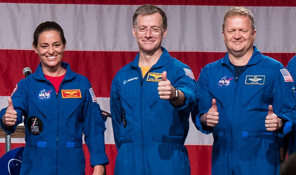 NASA news: Eric Boe, Nicole Mann, Chris ferguson
