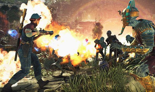 Strange Brigade on PS4, Xbox One and PC