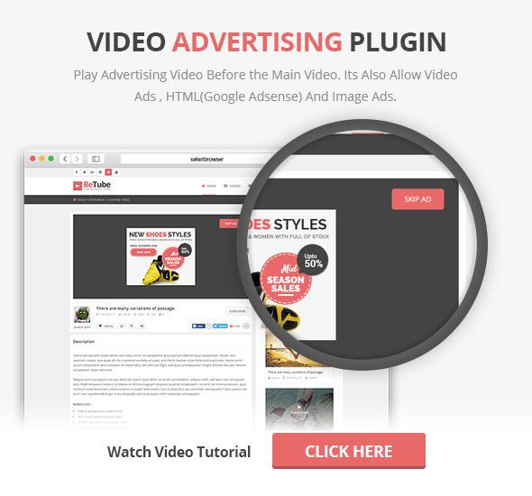 Video Ads Plugin