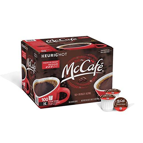 McCafe Premium Roast Coffee, K-CUP PODS, 100 Count