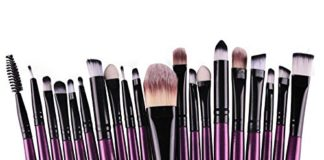Clearance Deals Makeup Brush Set,Laimeng_world 2018 Professional Fashion 20pcs Make up Brushes Kits Cosmetic tools Kit Valentine Gift (E)