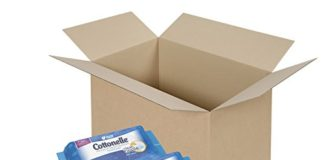 Cottonelle FreshCare Flushable Wipes, 42 Count, (Pack of 8) (Packaging May Vary)