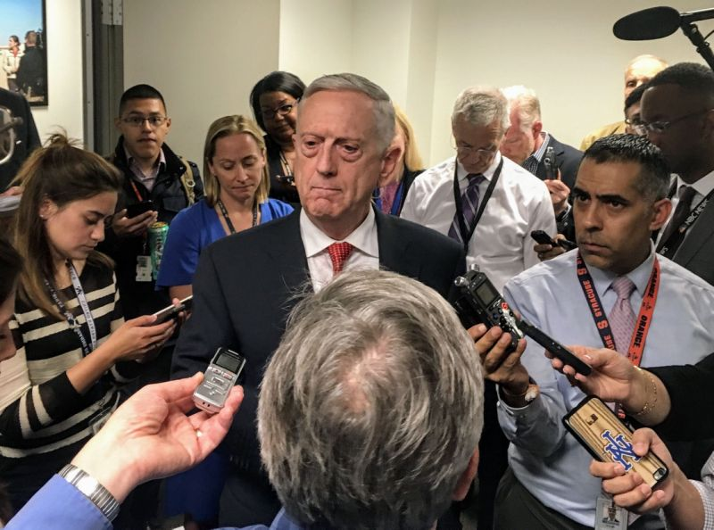 Defense Secretary Jim Mattis Says 'Jury Out' on Whether Women Can Succeed in Military Combat