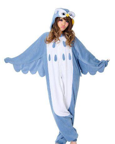 SAZAC Halloween Owl Kigurumi (Adults XL, Owl)