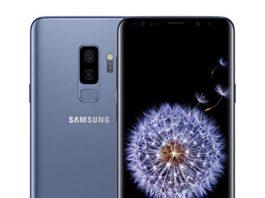 Samsung Galaxy S9+ Unlocked Smartphone - Coral Blue  [US Version]