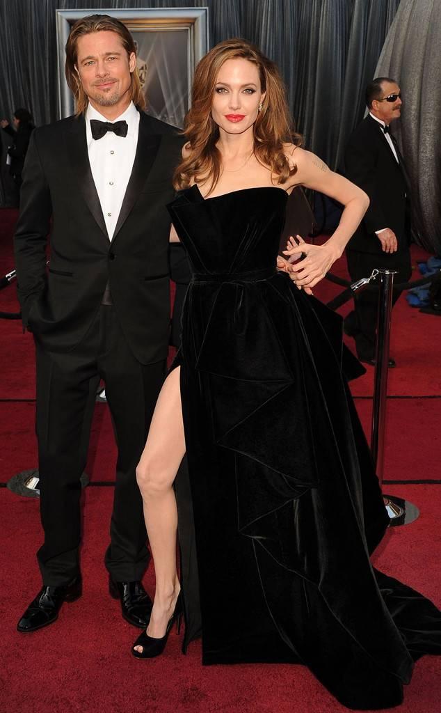 Brad Pitt, Angelina Jolie, Oscars Chic