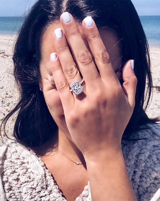 Lea Michele, Engagement Ring