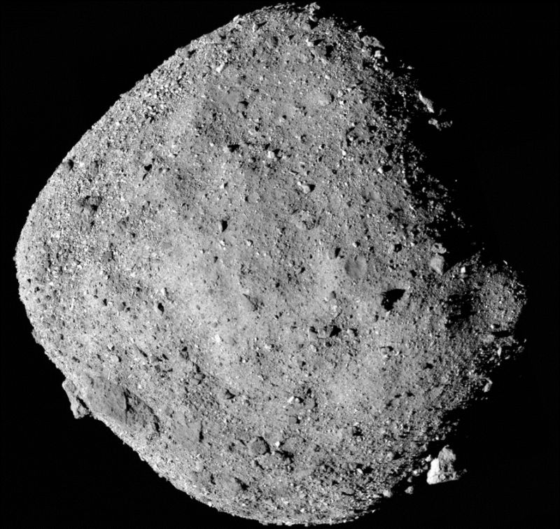 OSIRIS-REx View of Asteroid Bennu
