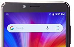 NUU Mobile G1 Unlocked Smartphone - 16GB - 5000 mAh Big Battery - Grey - US Warranty