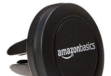 AmazonBasics Universal Air Vent Car Cell Phone Holder