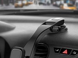 MIRACASE Car Phone Mount Magnetic Cell Phone Holder Dashboard&Windshield Adjustable Vehicle Phone Stand Compatible with iPhone X Xs Max XR 8 Plus 7 6 Samsung Galaxy S9 S8 Note 9 8 Edge
