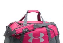 Under Armour Undeniable 3.0 Duffle, Tropic Pink (654)/Silver,