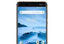 "Nokia 6.1 (2018) - Android One (Oreo) - Upgrade to Pie - 32 GB - Dual SIM Unlocked Smartphone (AT&T/T-Mobile/MetroPCS/Cricket/H2O) - 5.5"" Screen - Black - U.S. Warranty"