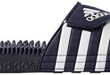 adidas Originals Men's Adissage Slides,New Navy/New Navy/Running White,10 M