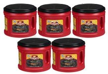 Folgers Black Silk Coffee 5-Pack, 24.2 Oz Canisters, Bold, Yet Exceptionally Smooth