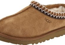 UGG Women's Tasman Slipper, Chestnut, 10 US/10 B US