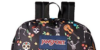 JanSport Superbreak Backpack - Durable for School & Travel, with Padded Shoulder Straps - (Day of the Dead)