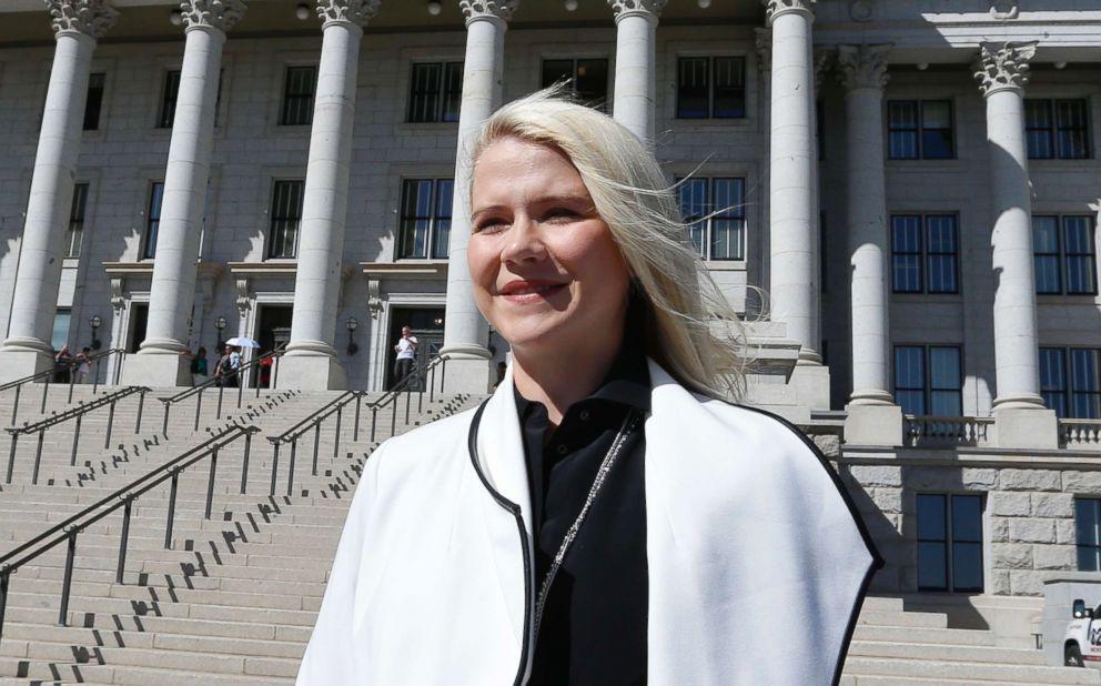 PHOTO: Elizabeth Smart arrives for a news conference, Sept. 13, 2018, in Salt Lake City.