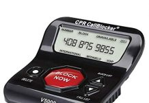 CPR V5000 - America's No 1 Call Blocker - Pre-loaded with 5000 known Robocall Scam numbers - Block a further 1500 numbers at a Touch of a Button - As seen on TV