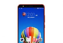 5.7'' Unlocked Mobile Phone-512MB+4G Android 6.0 Quad-Core Dual WiFi Smartphone (Red)