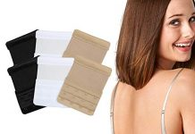 Size Range Bra Extender Women 4Hook 3Rows Strap Extension Non-Slip Non-Irritant