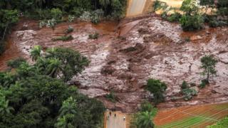 At least 34 have been confirmed dead and some 300 remain missing after a dam burst in Brazil, 26 January 2019