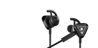 Turtle Beach Battle Buds In-Ear Gaming Headset for Mobile Gaming, Nintendo Switch, Xbox One, PS4, Pro, & PC - Black/Silver - Nintendo Switch