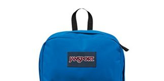 JanSport Superbreak Backpack - Stellar Blue - Classic, Ultralight