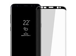 """Galaxy S8 Plus HD Screen Protector, Pueryin [Update Design] [Case Friendly] [3D Curve] 9H Hardness Tempered Glass Screen Protector, for Samsung Galaxy S8 Plus/S8+ (6.2"""") Black"""