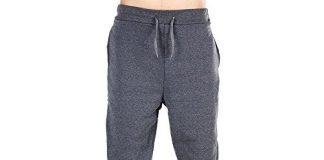 Kstare Mens Casual Jogger Slim Sportwear Baggy Harem Pants Slacks Trousers Sweatpants (Deep Grey, XL)