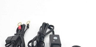 Motorcycle Waterproof 5V Dual USB Socket to SEA Mobile Phone Charger Adapter for iPhone Samsung Tablet and GPS
