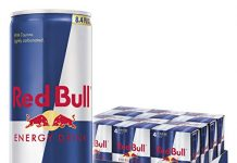 Red Bull Energy Drink, 24 Pack of 8.4 Fl Oz (6 Packs of 4)