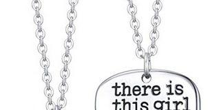 Luvalti Grandmas Girl Heart Pendant Necklace - Grandma Necklace Set - Best