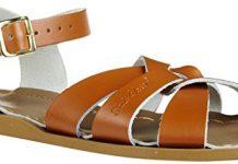 Salt Water Sandals by Hoy Shoe Original Sandal (Toddler/Little Kid/Big Kid/Women's), Tan, 6 M US Toddler