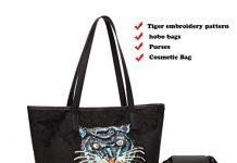 Purses and Handbags Mobile Phone Large Shoulder Laptop Bags for Women 4pcs